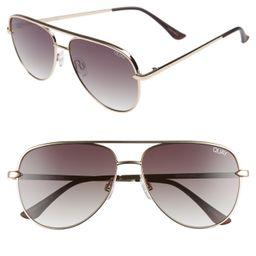 Quay Australia x Desi Perkins Sahara Mini 52mm Aviator Sunglasses   Nordstrom