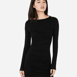 Ruched Sweater Dress | Express