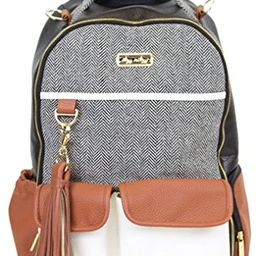 Itzy Ritzy Diaper Bag Backpack – Large Capacity Boss Backpack Diaper Bag Featuring Bottle Pockets, C | Amazon (US)