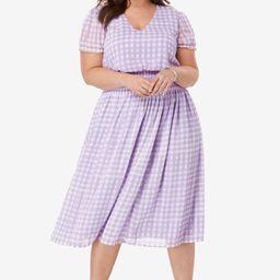 Smocked Midi Dress | Jessica London