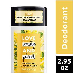 Love Beauty And Planet Deodorant, Coconut Oil and Ylang Ylang, 2.95 oz | Amazon (US)