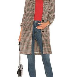 Velvet by Graham & Spencer Graham Coat in Multi   Revolve Clothing (Global)