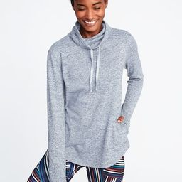 Funnel-Neck Sweater-Knit Performance Pullover for Women | Old Navy US