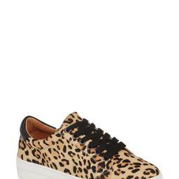 Bethany Platform Genuine Calf Hair Sneaker | Nordstrom