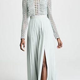 Spiral Lace Maxi Dress   Shopbop