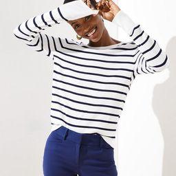 Striped Everyday Sweater | LOFT