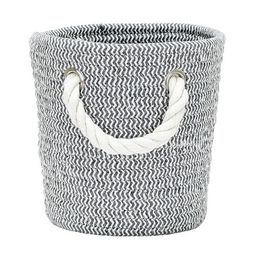 Coiled Rope Storage Bin Small Chevron - Cloud Island™ Gray | Target