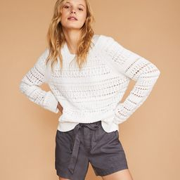 Lou & Grey Eyelash Stitch Sweater | LOFT
