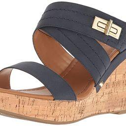 Tommy Hilfiger Women's Mili Wedge Sandal | Amazon (US)