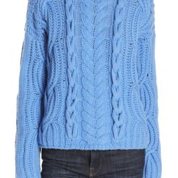 Mix Cable Wool & Cashmere Sweater   Nordstrom