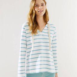 Striped Pullover Hoodie   LOFT
