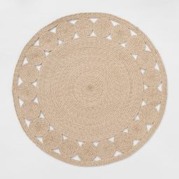 6' Round Ornate Woven Outdoor Rug - Opalhouse™ | Target