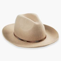 Beaded Trim Wool Hat   Lucky Brand   Lucky Brand