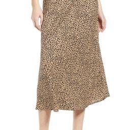 Love, Fire Leopard Midi Skirt   Nordstrom   Nordstrom