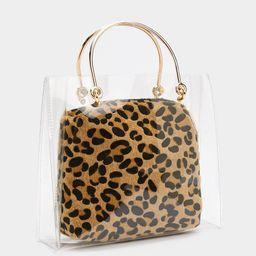 WANT Clear Goals Leopard Bag | NastyGal (US & CA)