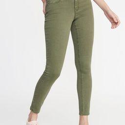 Mid-Rise Pop-Color Rockstar Super Skinny Jeans for Women   Old Navy US