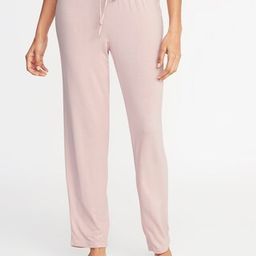 Soft Jersey Lounge Pants for Women   Old Navy US