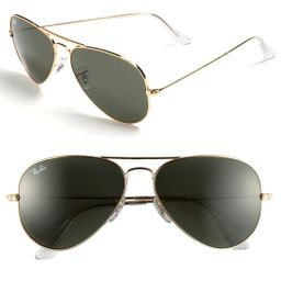 Standard Original 58mm Aviator Sunglasses | Nordstrom
