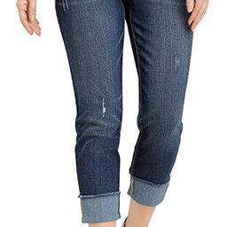 maurices Women's Slim Mid-Rise Jean - Denimflex Gray Stitch Boot Jeans | Amazon (US)