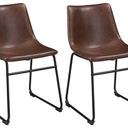 Ashley Furniture Signature Design - Centiar Dining Chairs - Set of 2 - Mid Century Modern Style -... | Amazon (US)