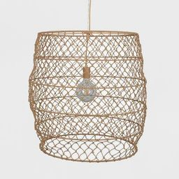 Rope Net Pendant Lamp (Includes Energy Efficient Light Bulb) + Leanne Ford  - Project 62™   Target
