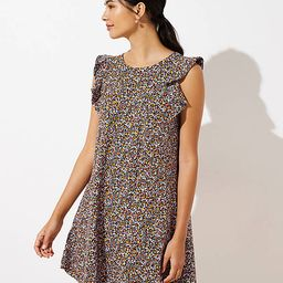 Floral Flutter Swing Dress   LOFT