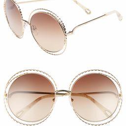 Carlina Torsade 58mm Round Sunglasses | Nordstrom