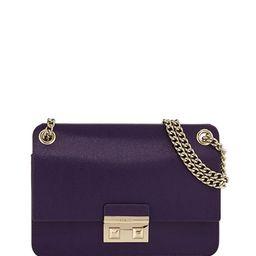 Bella Small Saffiano Leather Crossbody Bag | Lastcall