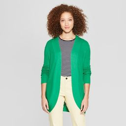 Women's Long Sleeve Ribbed Cuff Cardigan - A New Day™ | Target