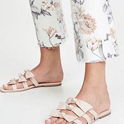 Atone Bow Sandals   Shopbop