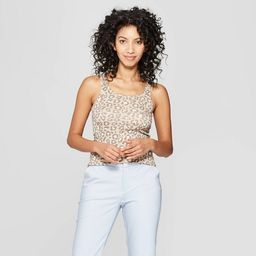 Women's Animal Print Any Day Tank - A New Day™ | Target