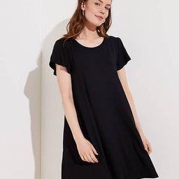 Petite Tulip Sleeve Swing Dress | LOFT