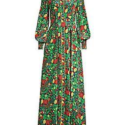 Alexis - Hiroka Botanical Robe Maxi Dress | Saks Fifth Avenue