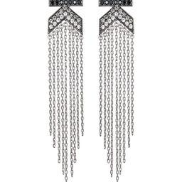 KARL LAGERFELD Paris K Fringe Statement Earrings Back to Results -  Jewelry & Accessories - Bloom...   Bloomingdale's (US)