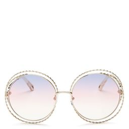 Chloé Women's Carlina Torsade Oversized Round Sunglasses, 58mm Back to Results -  Jewelry ... | Bloomingdale's (US)