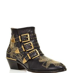 Chloé Women's Susan Pointed Toe Studded Leather Booties Back to Results -  Shoes - Bloomin... | Bloomingdale's (US)