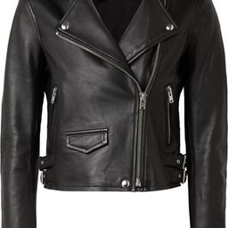 IRO       Ashville leather biker jacket $1,205 | Net-a-Porter (US)