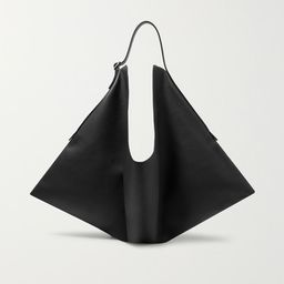 The Row       Flat Hobo small leather shoulder bag $1,990 | Net-a-Porter (US)