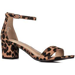 Women's Fashion Ankle Strap Kitten Heel Sandals - Adorable Cute Low Block Heel – Jasmine   Amazon (US)