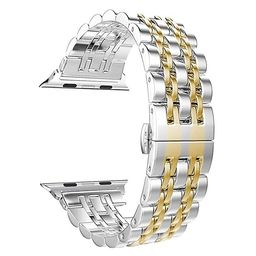 Replacement for Apple Watch Band 38mm 40mm Series 4/3/2/1, PUGO TOP Stainless Steel Iwatch Bracel...   Amazon (US)