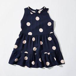LOFT Littles Dot Tiered Swing Dress | LOFT
