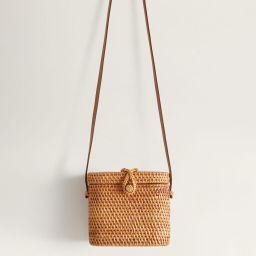 Sac coffre bambou | MANGO (FR)