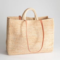 Large Woven Straw Tote | & Other Stories