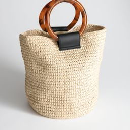 Woven Straw Tote Bag | & Other Stories