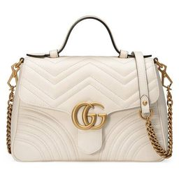 Gucci GG Marmont small top handle bag   Gucci (US)