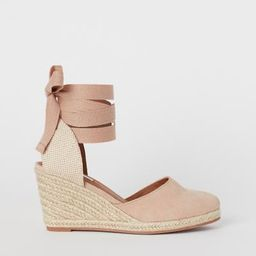 Suede sandals   H&M (UK, IE, MY, IN, SG, PH, TW, HK)