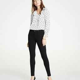 Performance Stretch Skinny Jeans In Black | Ann Taylor (US)