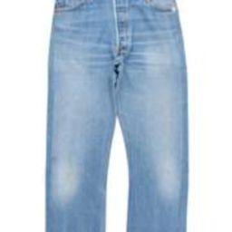 High Rise Ankle Crop Women's Jeans | RE/DONE + Levi's | RE/DONE
