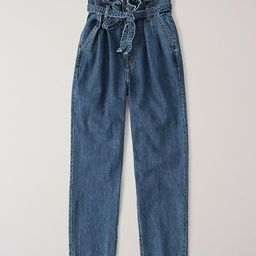 Paperbag Waist Jeans | Abercrombie & Fitch US & UK