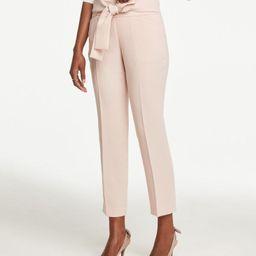 Tie Waist Ankle Pants | Ann Taylor Factory